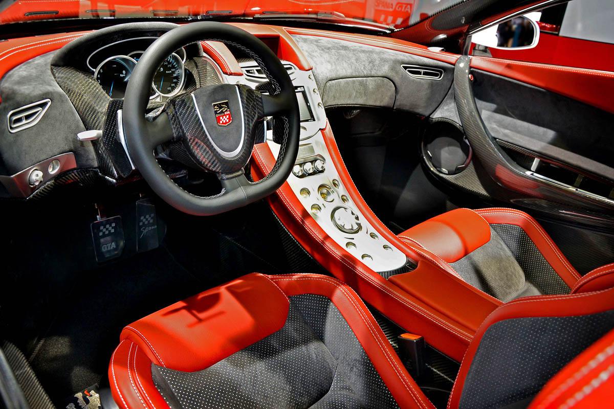 GTA Spano interior