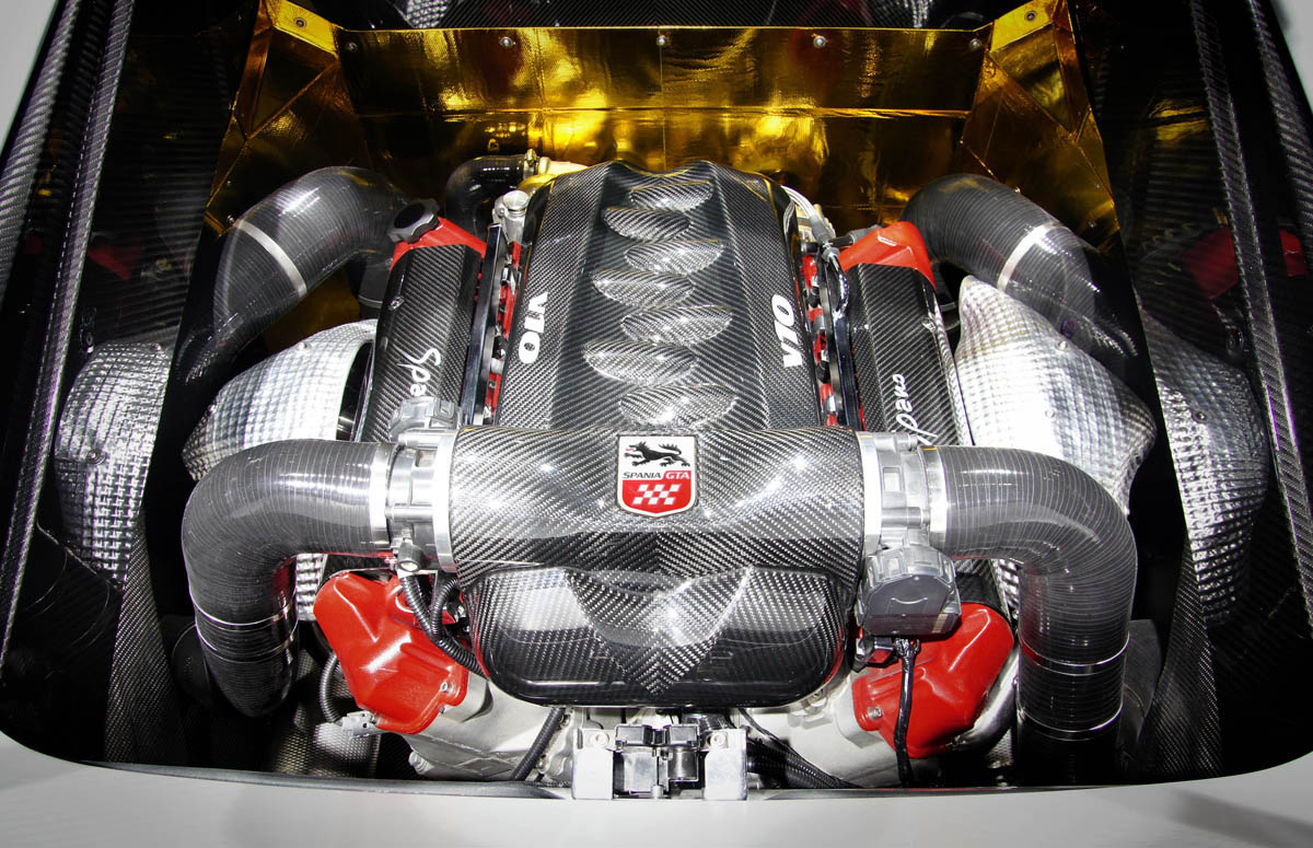 GTA Spano engine