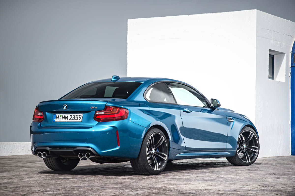 BMW M2 Coupe rear