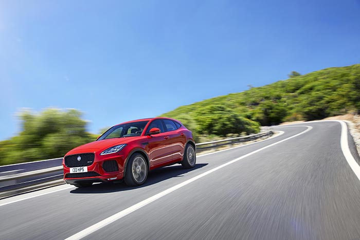 Jaguar's new E Pace SUV